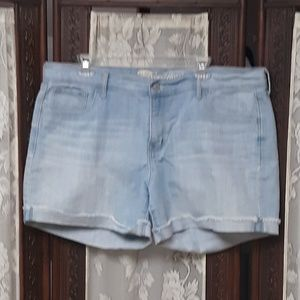 Old Navy Sweet Heart High Rise Jean Shorts